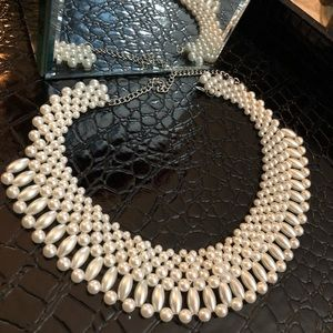 VERY STYLISH PEARL NECKLACE!!!💕💕💕